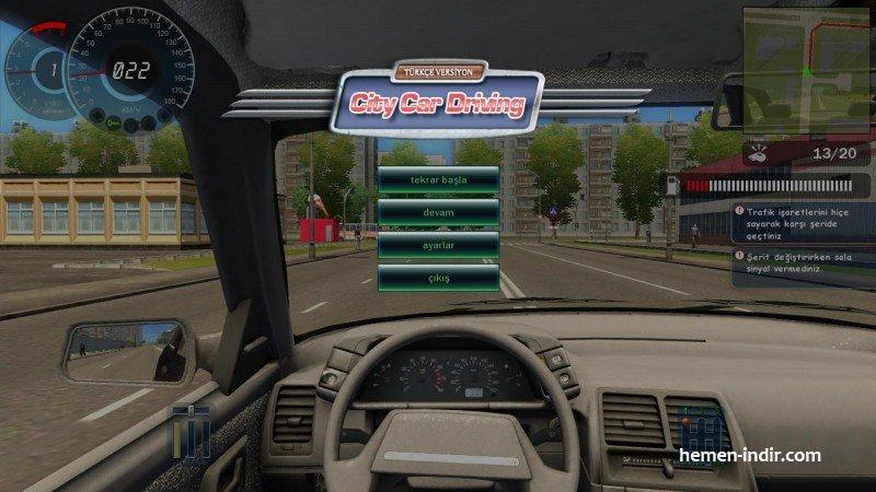 City Car Driving 1.2.2 3D Turkce 2.2.7 Araba Simulasyonu