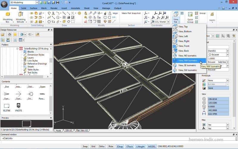 CorelCAD 2014.5 Build 14.4.51 x64 Turkce indir