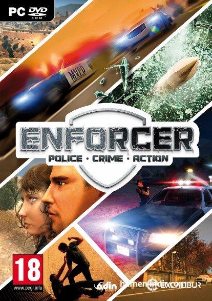 Enforcer Police Crime Action Full indir