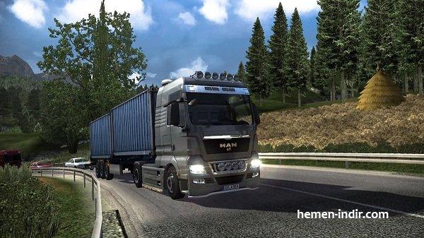 Euro Truck Simulator 2 Full Downlod Tek Link indir