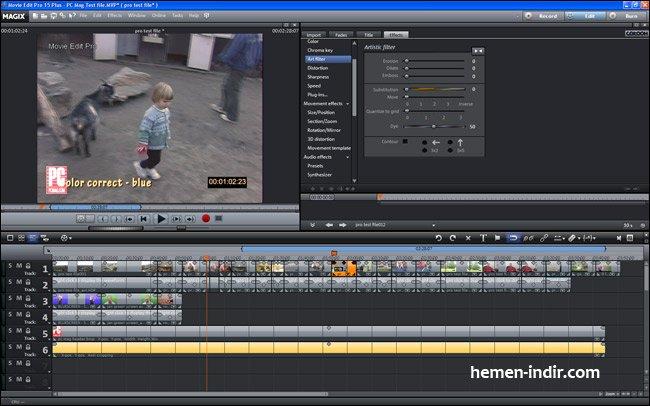 MAGIX Movie Edit Pro 2015 v14.0.0.162 Full Download indir