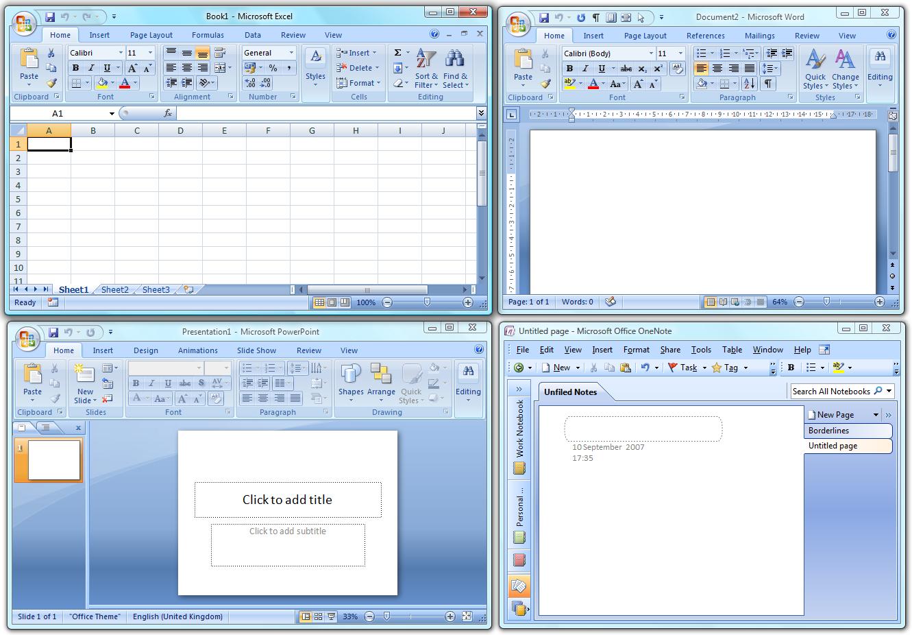 Microsoft Office 2007 (hemen) Türkçe Full İndir