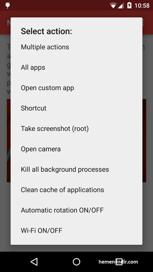 Now Gesture Tweaks v1.9 APK indir