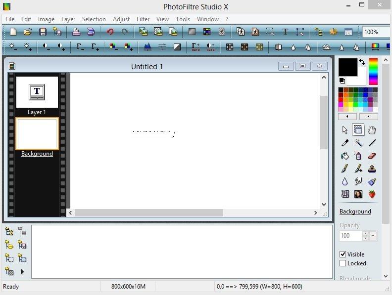 PhotoFiltre Studio X 10.9.2 Full indir
