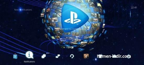 PlayStation 4 İçin Yeni Tema Yayınlandı