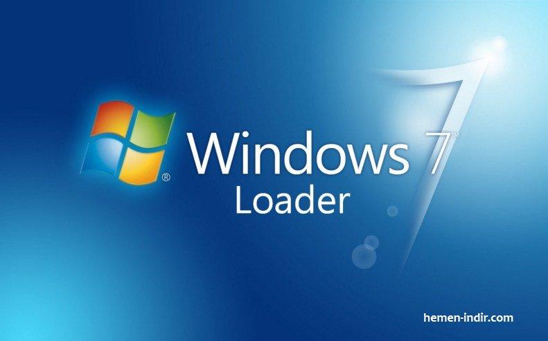 Windows 7 Loader Crack Lisans Download indir