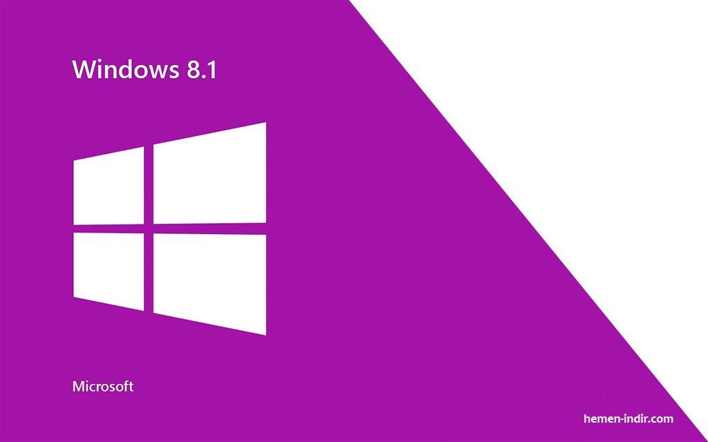 Windows 8.1 x64 (64-bit) Türkçe