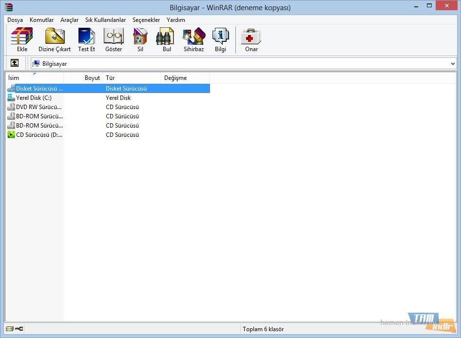Winrar 5.20 Final Tr Katılımısız Full İndir