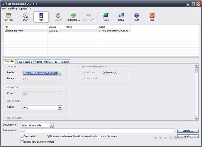 XMedia Recode 3.2.0.1 Full Download indir